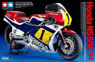 Tamiya 14125 1/12 Scale GP Moto Motorcycle Model Kit Honda NS500 '84 F.Spencer