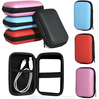 Portable Carry Case Pouch Protect Bag for 2.5'' USB External HDD Hard Disk Drive
