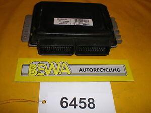 Steuergeraet-Motor-Renault-Twingo-7700115205-Nr-6458-E