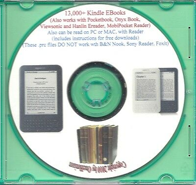 13,000+ EBooks for the Amazon Kindle