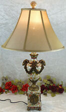 Porzellan Vasenlampe Bodenlampe Tischlampe Stehlampe Stehleuhte Bronze Antik