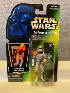 STAR WARS Death Star Trooper POTF Action Figure Blaster Rifle 1998 Kenner Hasbro
