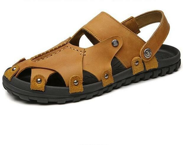 Para Hombre Puntera estrecha Hollow Out Zapatos Zapatos sin Taco Deporte al Aire Libre Playa de Vacaciones caliente