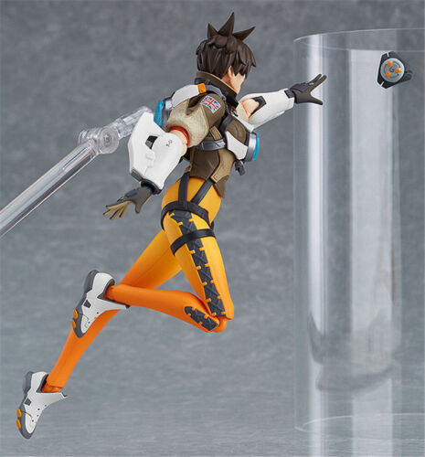 """6/"""" Game Overwatch Tracer Action Figure Figma 352 OW Collection Toy Gift in Box"""