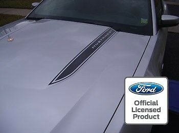 2010-2012 Ford Mustang Hood Spear Cowl Stripe graphic decal sticker package LOB