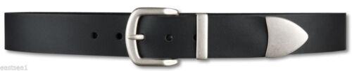 Bernd Götz cinturón de cuero masivas Cinturón Vaqueros cinturón Black 75,90,105 cm s9//401006