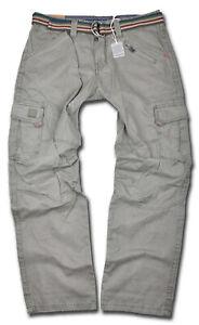 TIMEZONE-Herren-Cargo-Hose-Benito-Grau-Cargohose-Outdoor-6168-Herrenhose-Jeans