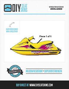RX-DI-GSX-GSI-HX-SP-XP-SPX-SEA-DOO-YELLOW-Seat-Cover-92-93-94-95-96-97-USA-MADE