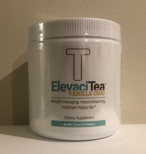 NEW Elevate Chai Tea TUB AND  EXTREME ENERGY BY ELEVACITY GLUTEN FREE