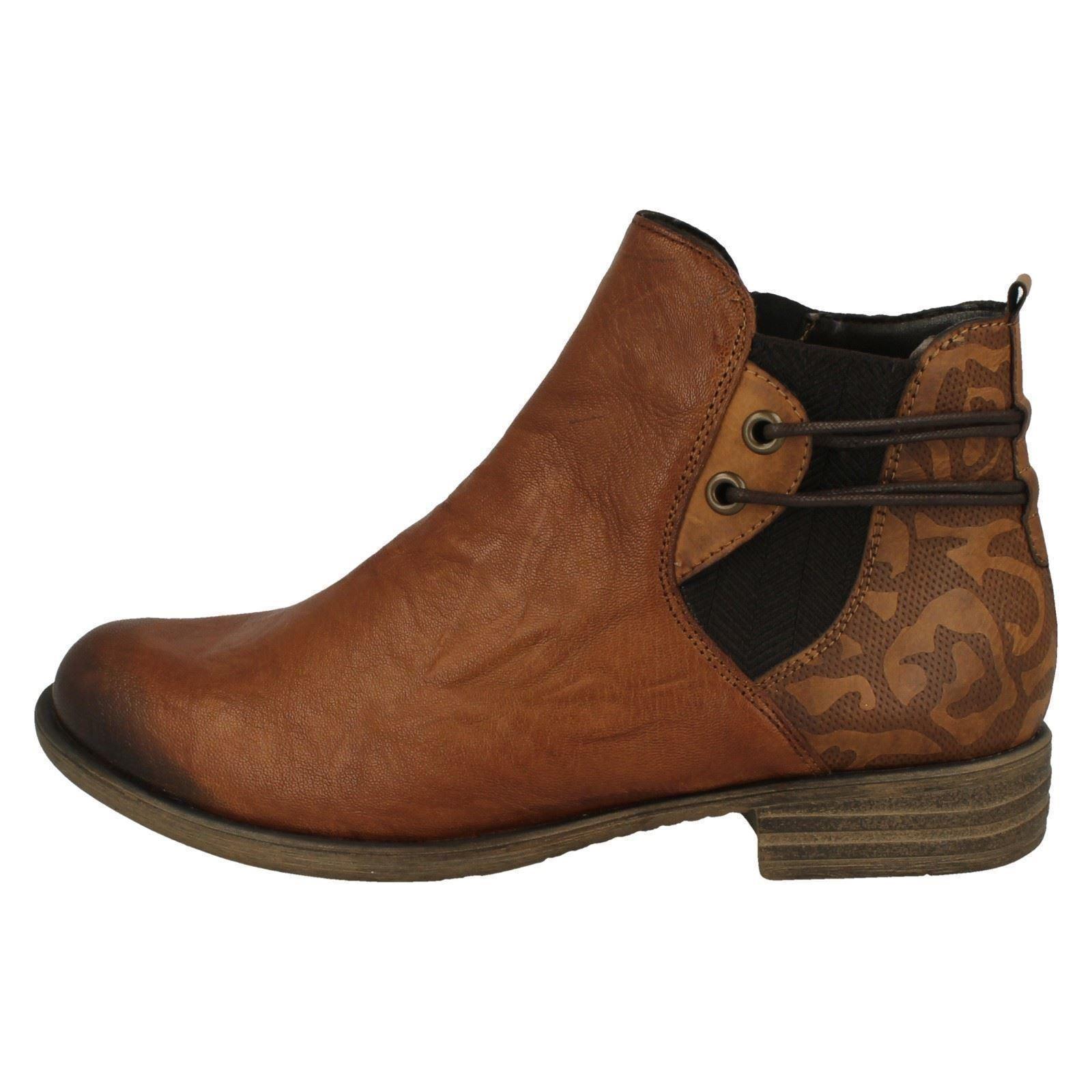 Remonte Damas Damas Damas Tobillo botas D4976 1911c4