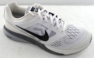 17b90f8fcdfc NIKE Tri Fusion Run Men s Running Shoe 749170-100 White Black Grey ...