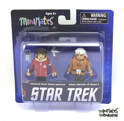 /& Wrath of Khan Star Trek Legacy Minimates Wave 1 Admiral Kirk Field Jacket