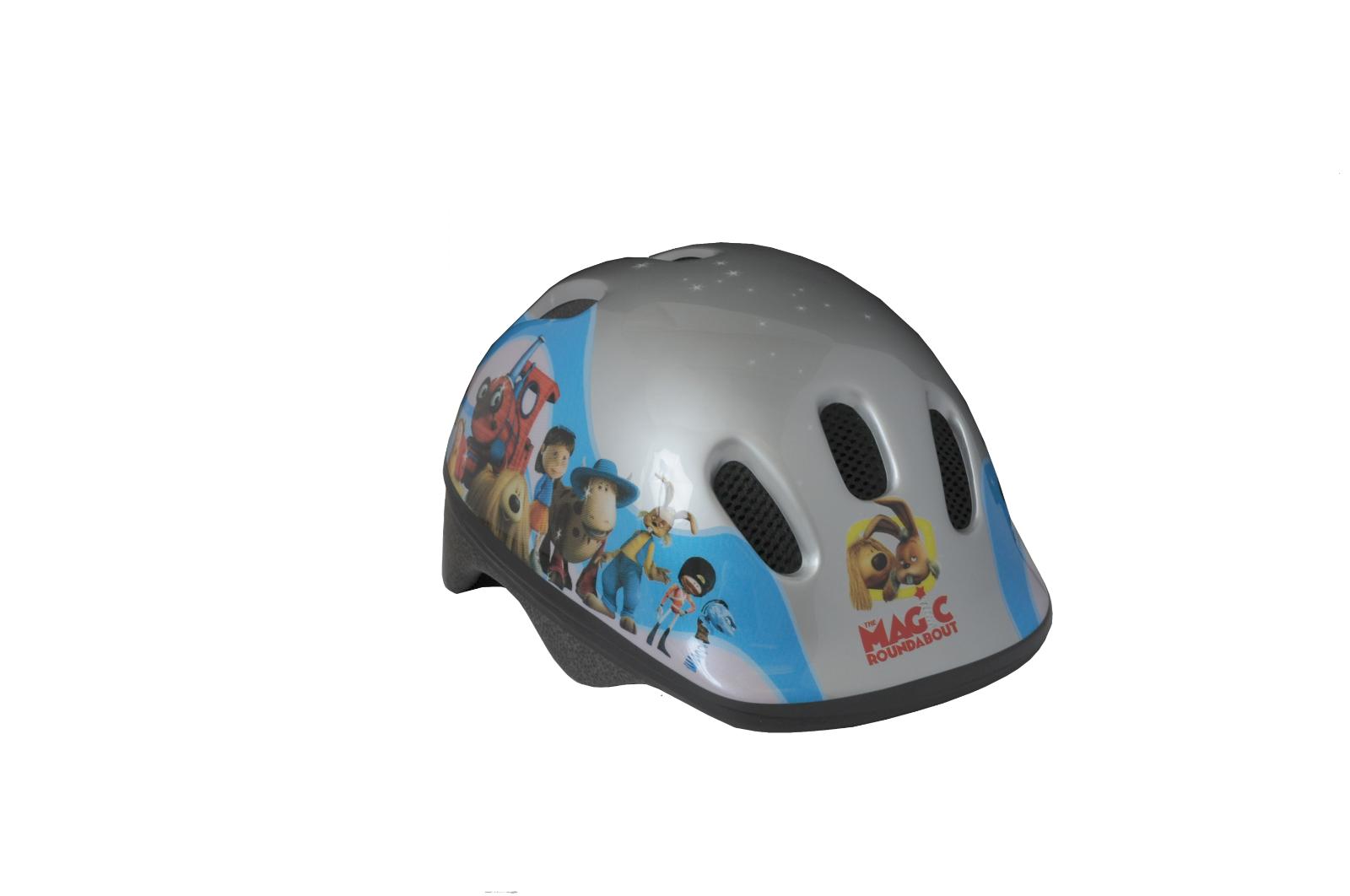 MAGIC ROUNDABOUT Kids Bike Set Accessory Helmet Horn Basket Bottle Saddle Cover