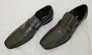 di M Charcoal 5 Mens cuoio rockir Slip usato scarpe On genuino Madden 11 nZFnOxfq