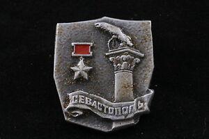Militaria Ww2 Battle Of Stalingrad Kyiv Sevastopol Wwii Soviet Russian Pin Badge Set Of 9