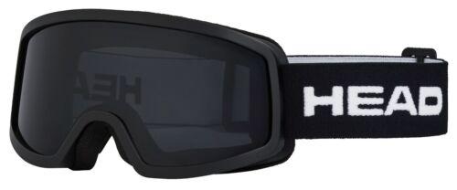Junior Skibrille Black//Smoke Lens * Kat STREAM Einheitsgröße HEAD S3