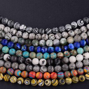 Natural-Stone-Sea-Sediment-Gemstone-Round-Beads-DIY-Bracelets-15-034-4mm-6mm-8mm