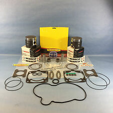 NEW POLARIS 600 WISECO PISTONS TOP END GASKET KIT 77.25MM 2011-2014 IQ 600 LXT