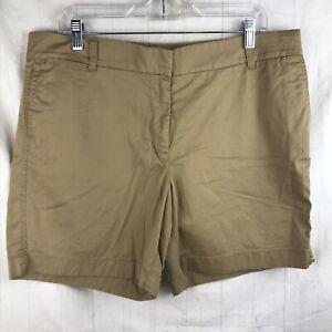 "NWT J.Crew Dark Navy Blue 3/"" Cotton Stretch Chino Shorts Women/'s 0"
