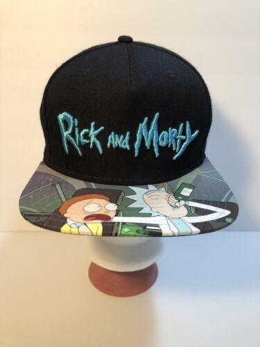 Rick & Morty Hat Men's Snapback Hat Cap Bioworld A