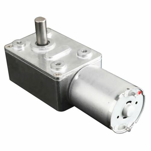 DC 12V 3rpm Reversible High Torque Turbo Worm Geared Motor Motor GW370 K8A9
