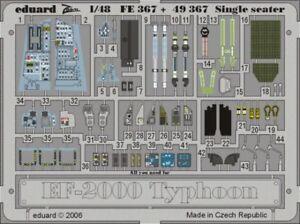 Eduard-1-48-Eurofighter-Typhoon-Single-Seater-PRE-PAINTED-For-Revell-FE367