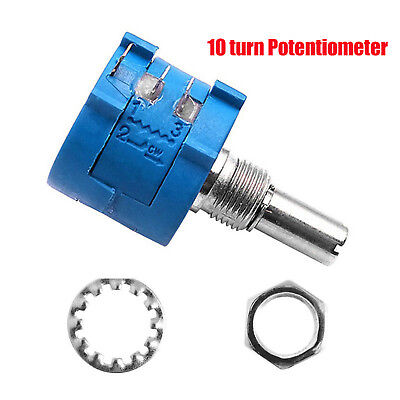 100K Ohm 3590S-2-104L  Adjustable Precision Multi-turn Potentiometer Power 2W