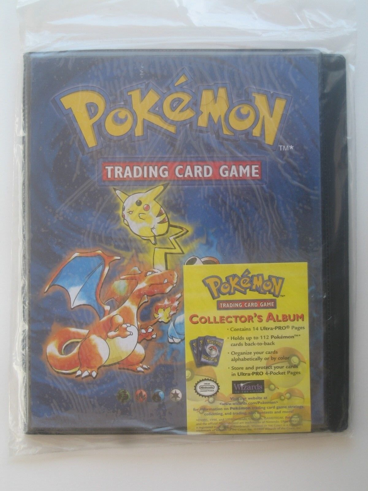 1999 Wizards of the Coast Pokemon Trading Card Game Collector's Album  SEALED