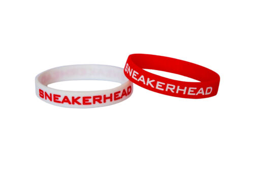 SNEAKERHEAD WRISTBANDS SNEAKERHEADS SILICONE RUBBER WRISTBAND BUY 2 GET 1 FREE