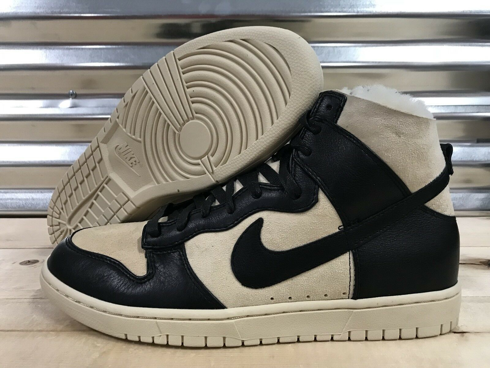 Nike chaussures Dunk Lux SP Sherpa chaussures Nike noir Sail Fur SZ 12 ( 744301-002 ) 776123