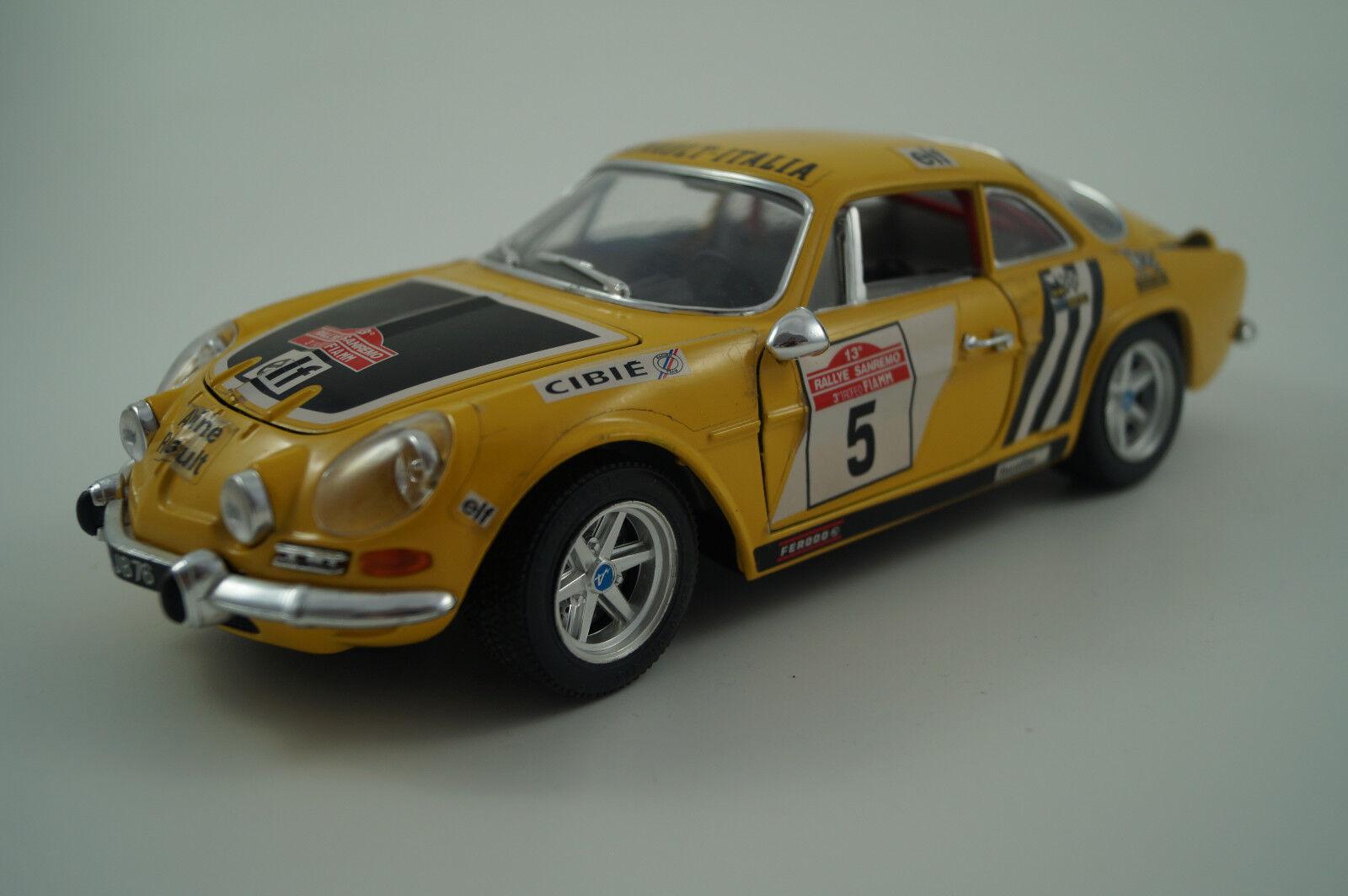BBURAGO BURAGO voiture miniature 1 18 1 16 ALPINE A 110