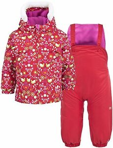 0acb8a409bd4 TRESPASS SQUEEZY BABY GIRLS KIDS SKI SNOW INSULATED WATERPROOF 2 ...