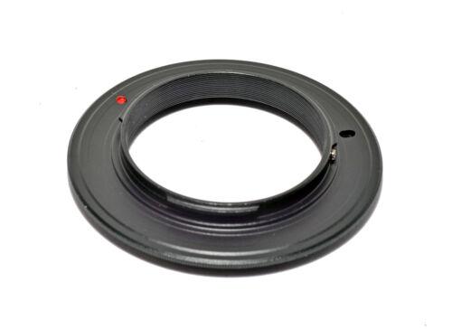 Anillo de marcha atrás Fuji X 49mm Lente Macro adaptador de reversa 49mm