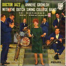 ANNEKE GRÖNLOH / DUTCH SWING COLLEGE BAND VOCAL JAZZ 60'S EP PHILIPS 433142