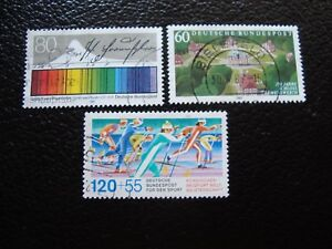 Germany-Rfa-Stamp-Yvert-and-Tellier-N-1143-A-1145-Obl-A3-Stamp-Germany