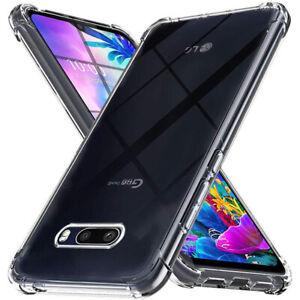 For-LG-G8X-G8-G7-V40-V50-V60-ThinQ-K51S-K40-Shockproof-Soft-Clear-TPU-Case-Cover