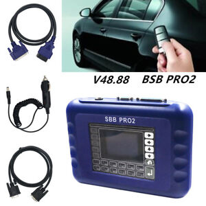 Newest SBB PRO2 V48 88 Key Programmer Tool No Token