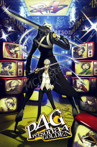 Details about RGC Huge Poster - Persona 4 Golden PSP PS2 GLOSSY FINISH-  NVG080