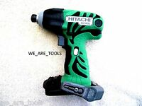 Hitachi Wh18dl 18v Cordless 1/4 Impact Driver 18 Volt Drill,battery Operated