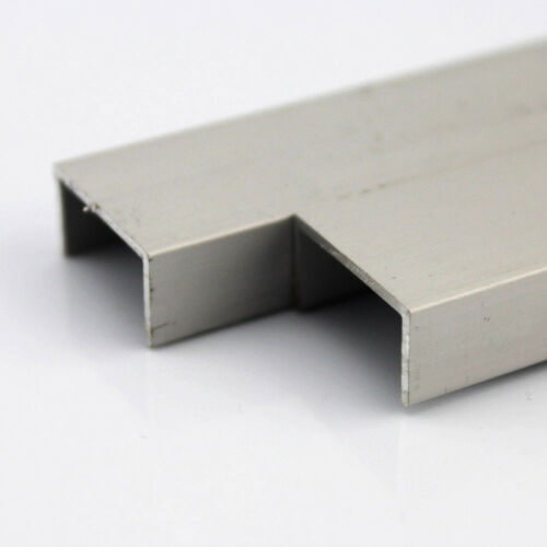 1PC Aluminium U Profile Channel DIY RC Car Model Robot Bracket Chose Size