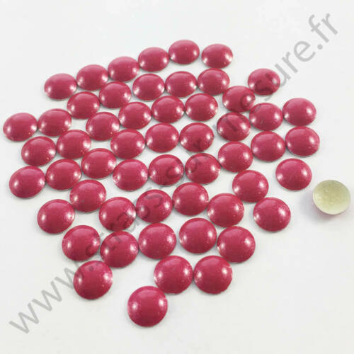 6mm Strass clou thermocollant hotfix ROUGE NACRE 4mm 2mm 5mm 3mm