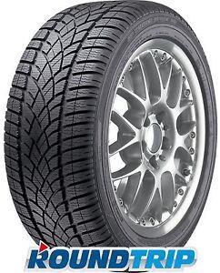 4x Dunlop SP Winter Sport 3D 245/40 R18 97V XL, AO, MFS, 3PMSF