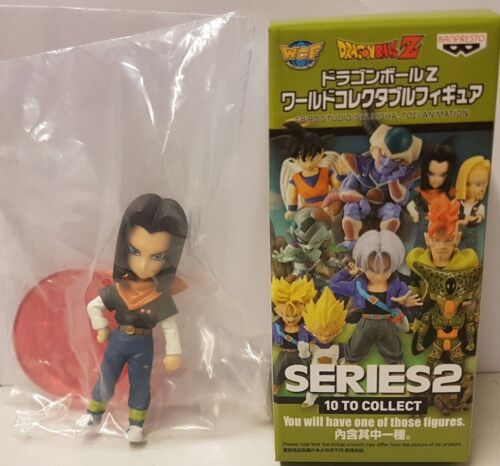 DRAGON BALL Z ANDROID 17 WCF MYSTERIUM BLIND BOX SERIES 2 CELL SAGA BANPRESTO