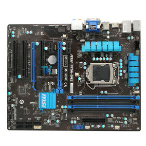 Intel B75 LGA 1155 Socket Motherboard for MSI B75A-G43 MS-7758 TEST OK