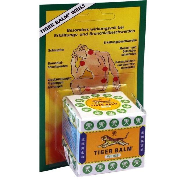 Klosterfrau Tigerbalsam   19,4 g   TIGER Balm weiss    PZN2727775