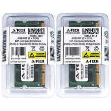 4GB KIT 2 x 2GB HP Compaq EliteBook 2530p 2730p 6930p 8530p 8530w Ram Memory