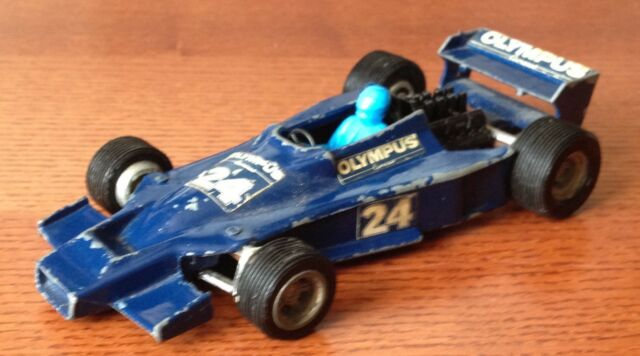 HESKETH Formel 1 Racing Car Olympus Werbemodell Dinky Toys