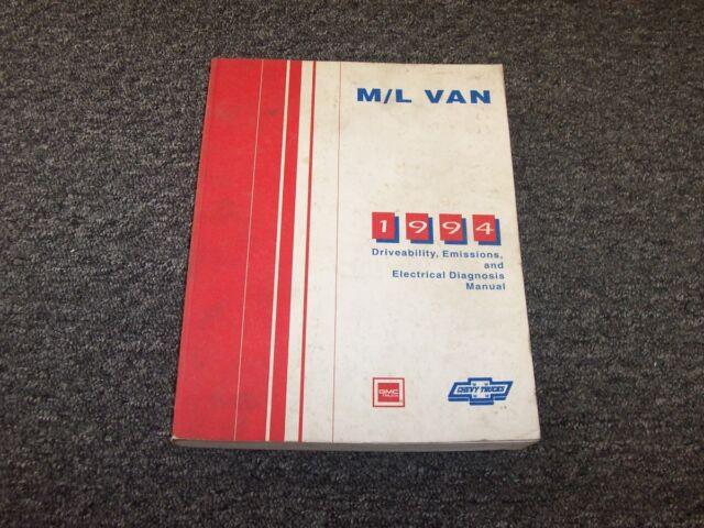 1994 Chevy Astro  U0026 Gmc Safari Van Driveability Emssions