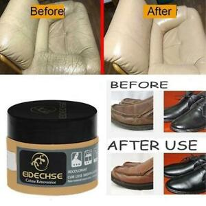 Leather Repair Filler Cream Kit Restore Car Seat Sofa Scratch Scuffs Holes Rip e