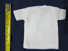 """1//6 Scale Tee Hot White Short Sleeves T-Shirt For 12/"""" Action Figure Toys"""